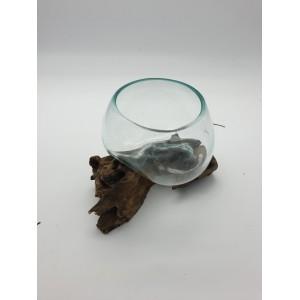 Vases Racine Teck