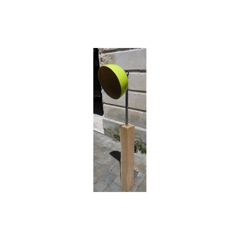 Luminaire Bambou Medium Green