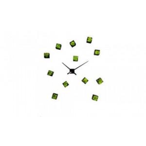 Horloge en  lichen stabilisé