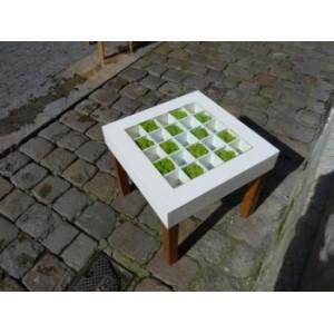 Table végétale Damier