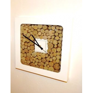 Horloge Rondin